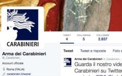 Carabinieri 2.0: ora anche su Twitter e Youtube