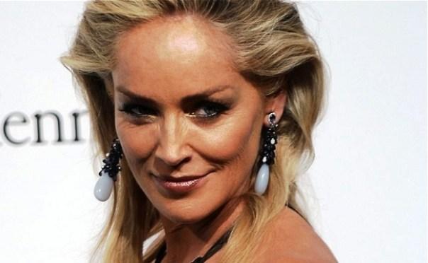 L'attrice Sharon Stone