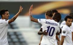 Fiorentina, valanga viola con il Belenenses: 0-4. Grande Bernardeschi e risorge Pepito Rossi (suo il quarto gol). Pagelle