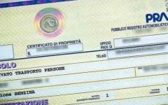 Auto: dal 5 ottobre il certificato di proprietà diventa digitale