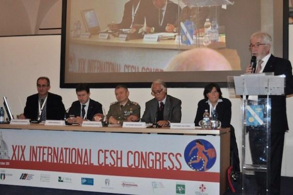 da sinistra Evangelos Albanidis, Dario Nardella, Gianfranco Rossi, Giovanni Malagò, Stefania Saccardi e Marcello Marchioni