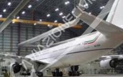 Governo: pronto il nuovo superjet di Matteo Renzi. E' più grande di quello del Papa. Ma resta fermo nell'hangar