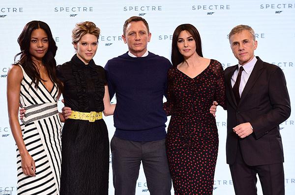007 Spectre - il cast