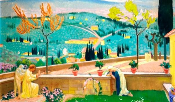 L'Annunciazione a Fiesole, di Maurice Denis