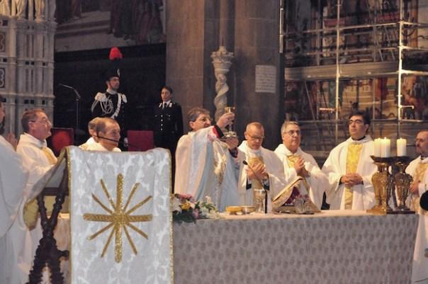 La funzione religiosa in Santa Maria Novella