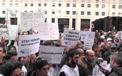 Terrorismo, l'Islam d'Italia in piazza: «No alla violenza, sì alle moschee»