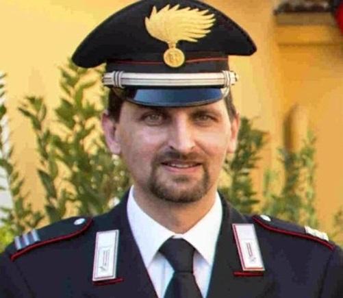 Carrara, il maresciallo dei carabinieri ucciso, Antonio Taibi