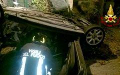 Firenze: un morto e quattro feriti nell'auto che si ribalta alle Cascine