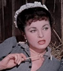 """Silvana Pampanini in """"L'allegro squadrone """" (1954)"""