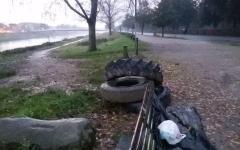 Firenze, Cascine: comitato di cittadini denuncia il degrado del parco (foto)