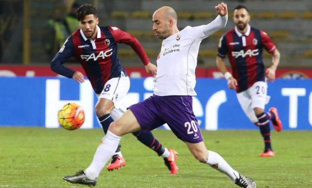 Borja Valero fulcro del gioco viola: spera di poter recuperare in tempo per la Juventus