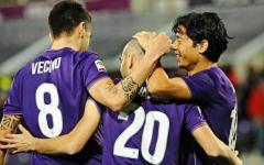 Fiorentina: gol-capolavoro di Mauro Zarate al 93'. Carpi battuto: 2-1. Viola al terzo posto. Pagelle