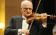 Firenze: a Salvatore Accardo le chiavi della città. La consegna del sindaco-violinista, Dario Nardella