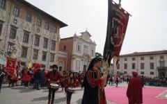 Pisa: celebrato il capodanno in Piazza dei Cavalieri
