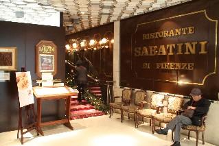 Il ristorante Sabatini di Firenze, da tempo nella lista dei locali storici d'Italia
