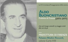 Firenze: Alfano inaugura la mostra dedicata ad Aldo Buoncristiano, prefetto dal 1973 al 1977