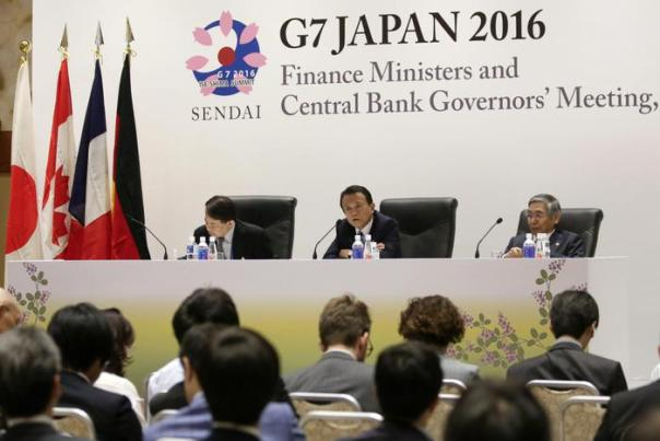 G7 Finance Ministers meeting in Seidai, northern Japan