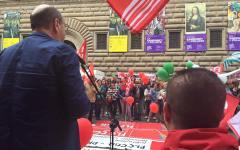 Scuola: in Toscana bocciato l'80% dei docenti. Protesta davanti all'ufficio regionale
