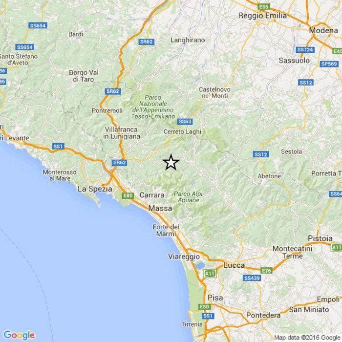 Terremoto in Garfagnana, trema anche l'Appennino reggiano