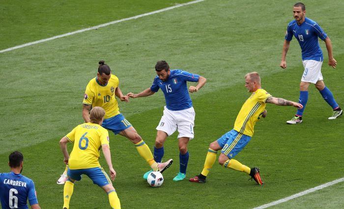 Italia vittoriosa nel finale con la Svezia: Ibrahimovic, partita deludente