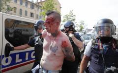 Euro 2016: Marsiglia, scontri fra gli Hooligans e la polizia francese, cinque feriti