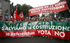 Firenze, referendum costituzionale: Comitati del NO sabato 11 giugno in 8 piazze