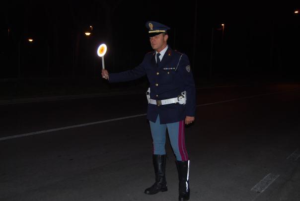 Polstrada notte foto