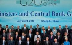 Cina, G20: ripresa più debole del previsto. Commercio frenato. Padoan ottimista: nessun problema per le banche italiane