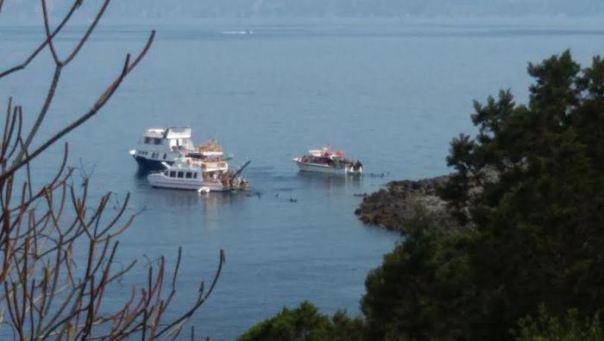 Barche a Giannutri