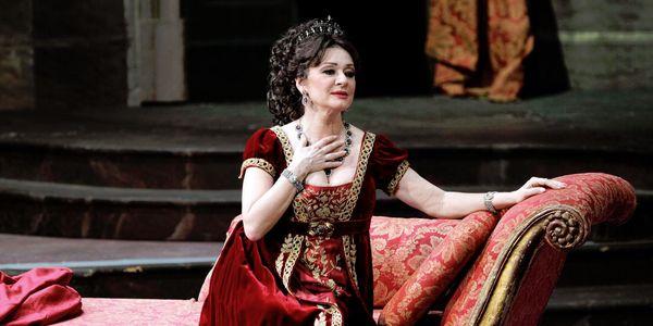 Daniela Dessì in «Tosca»