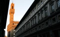 Firenze, musei: Palazzo vecchio e Uffizi, uscio e bottega