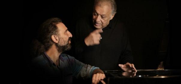 Stefano Bollani e Zubin Mehta (foto Contrasto)