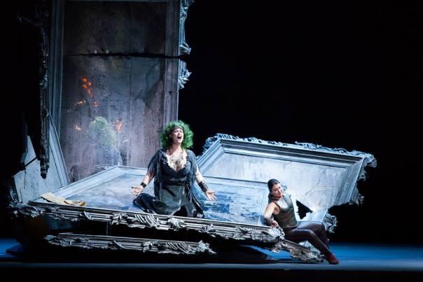 Il duetto al secondo atto fra Semiramide (Jessica Pratt) e Arsace-Ninia