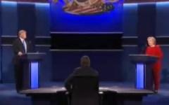 Presidenziali Usa: Hillary Clinton, di rosso vestita, vince (ai punti) il primo confronto Tv