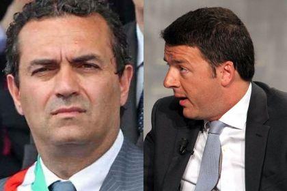Renzi a Napoli, tafferugli con polizia