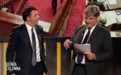 Pensioni: Renzi lancia il 'patto della lavagna'. Immediata contestazione di Salvini