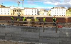 Firenze, lungarno Torrigiani: Nardella conferma la riapertura per il 4 novembre