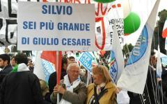 Roma Referendum: manifestazione per il No, Berlusconi aderisce con un videomessaggio
