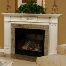 Small Crop Of White Fireplace Mantel