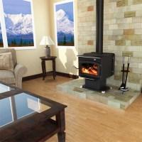 Fireplaceinsert.com,Vogelzang Plate Steel Wood Stove Performer