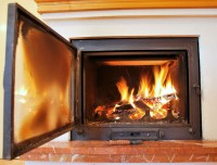 How to Clean Glass Fireplace Door with Ash - The Blog at ...