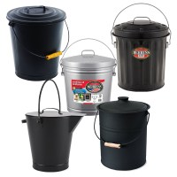 Fireplace Ash Bucket With Lid - Fireplace Ideas