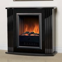 Luxury | Dimplex Mozart Gloss Black Optiflame Electric ...