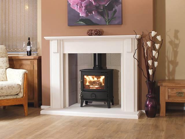Newman Alvito Fireplace Stoke Gas Electric Fireplace