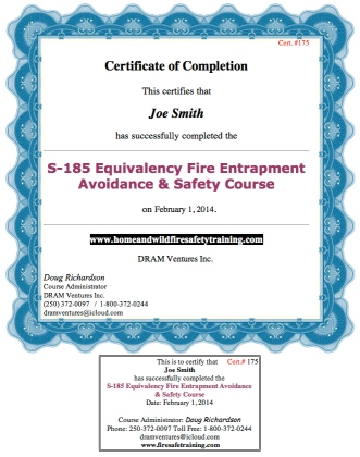 S-100 Basic Fire Suppression  Safety Course Overview