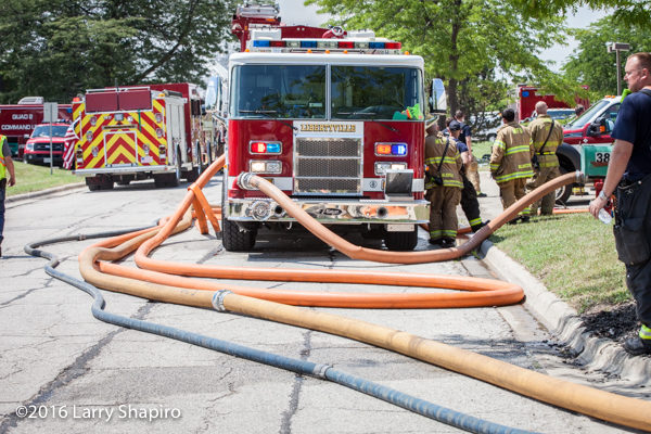 7 Alarm Fire In Gurnee Il July 28 2016 Firescenesnet