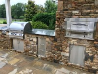 Outdoor Kitchen: Built-in Gas Pizza Oven - Fireside ...