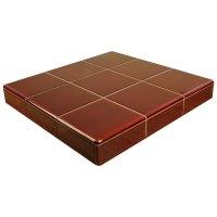 Burgundy Fireplace Tiles | Buy online from FireTile Ltd