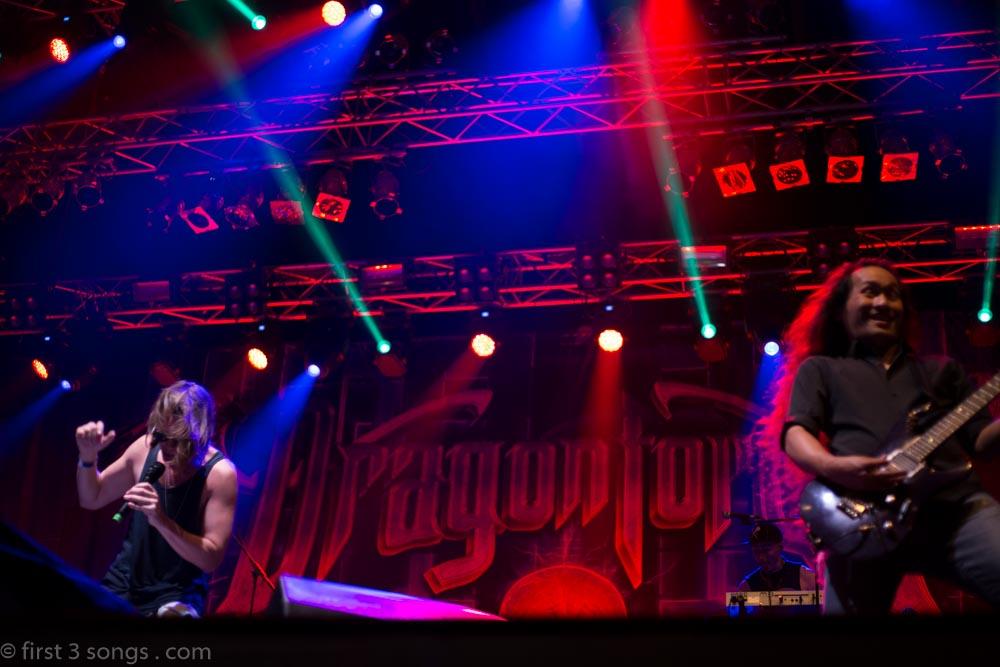 Dragonforce - Metaldays 2016