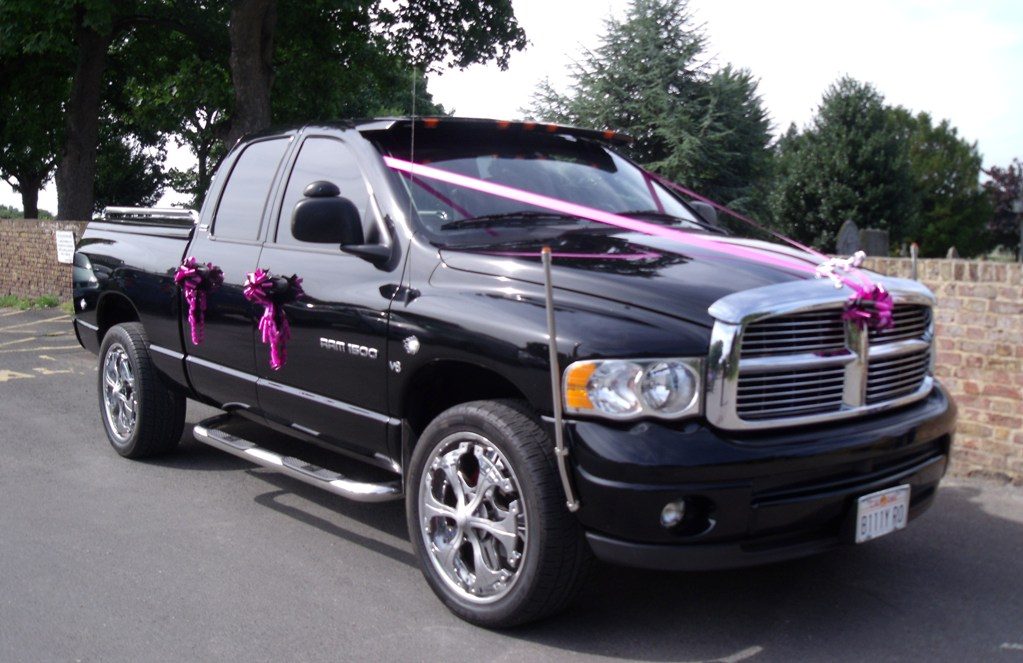 American Dodge Dodge Ram Pick Up For Weddings In Rochester, Kent